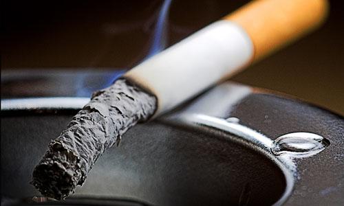 Курение - одна из причин пневмонии