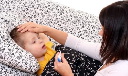 Температура у ребенка при воспалении легких