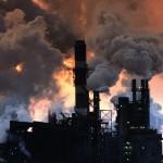Развитие астмы при вдыхании загрязненного воздуха