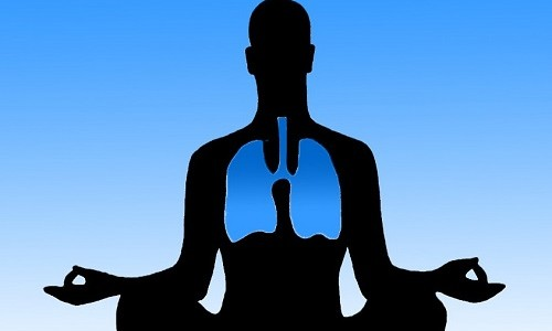 Легкое дыхание здорового человека