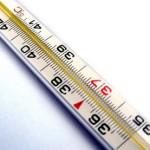 Высокая температура один из симптомов пневмонии