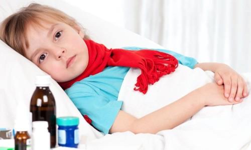 Ребенок с пневмонией
