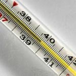 Повышенная температура - симптом ИТШ
