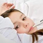 Повышение температуры при развитии болезни
