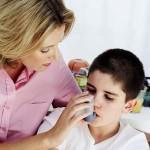 Снятие симптомов при приступах астмы