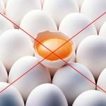 Исключение из рациона яиц