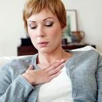 Одышка при тотальном пневмосклерозе