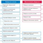 Классификация туберкулеза