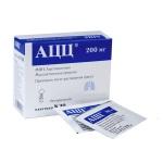 АЦЦ для вывода мокроты при бронхопневмонии