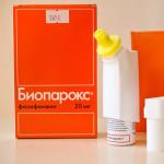 """Назначение """"Биопарокса"""" для лечения трахеита"""