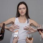 Отказ от вредных привычек для лечения храпа
