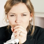 Кашель - симптом шокового легкого